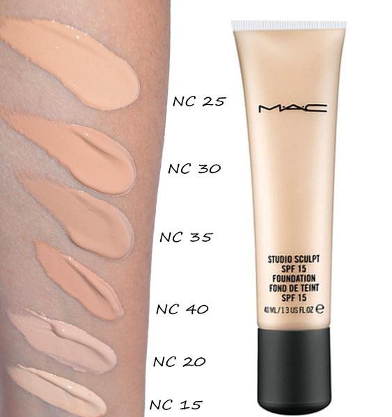 Mac face and body foundation обеспечивает естественный цвет и текстуру кожи, он легко наносится и быстро сохнет