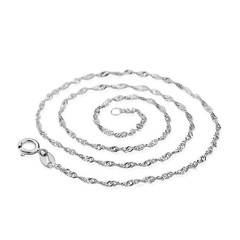 Серебряная цепочка в подарок 742