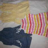 Ромпер сарафан платье на 2-3 года один на выбор