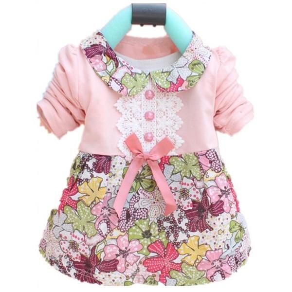 Платье для девочки до 1 года