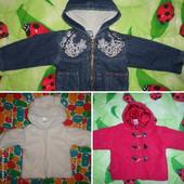 Куртка демисезонная для девочки, одна на выбор.