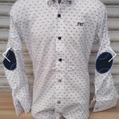 Рубашка мальчику.Турция Рост-158.Рукав-трансформер