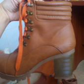 Ботинки осенние 27 см. стелька skechers