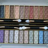 Набор матовых теней для век Karina Matte,12 цветов(2 разные палитры)Качество супер!
