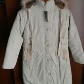 Новая куртка- пальто на подростка или девушку, еврозима, от 164см
