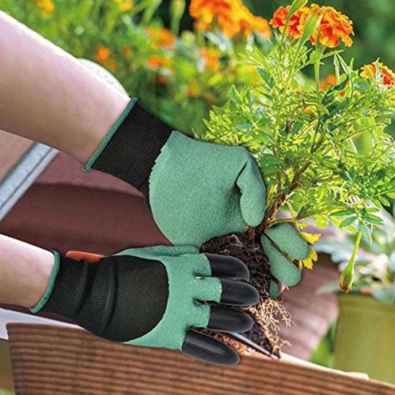 Перчатка для работы в саду и огороде Garden Genie Gloves в Новомосковске