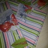 Набор кухонных вафельных полотенец (3шт)