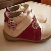 ботинки кожаные для девочки.стелька 16см.укр почта при получении