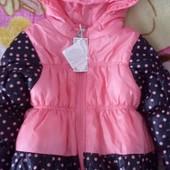 Куртка для девочки Новая!