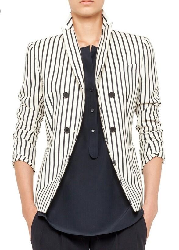 с чем можно носить полосатый пиджак фото гибели