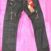 Новые Стильные джинсы W:30; L:32