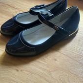 Темносиние туфли. 37р. 24 см