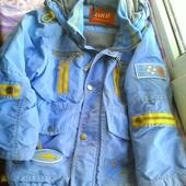 Фирменная детская куртка Кико на флисе, читайте описание.