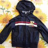 Легкая курточка- ветровка на ребенка 2-3 года