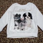 Плюшевый свитерок 2-4 года
