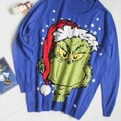 Новогодний свитер с Гринчем