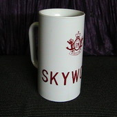 """Чашка - кружка """"sky wolf"""" читаем описание."""