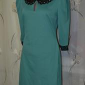 Женское платье Цвет морской волны Размер Л (L)