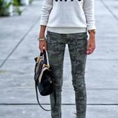 Женские красивые джинсы скинни. Модный зауженный пошив. Хлопок. шикарное качество! р-р на выбор.