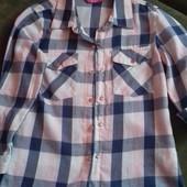 Стильная рубаха, про-во Индия. На девчонку 116 - 128.