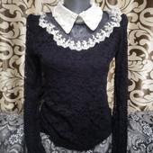 Шикарная гипюровая блузка! влюбитесь с первого взгляда