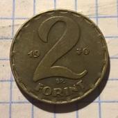 Монета Венгрии 2 форинта 1970