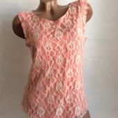 Очень красивая блуза с гипюром oasis