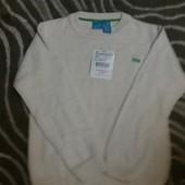 Фирменный свитер Zara 6-7 года Хлопок 100% Новый