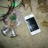 Оригинальный Iphone 4S 16gbWhite из сша  Neverlock