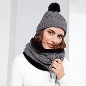 Вязаная  теплая шапка ТСМ Чибо германия  размер универсальный