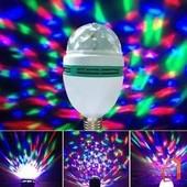 Завораживающая светодиодная вращающаяся дисков лампа! Создаст праздничное настроение! :)