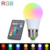 Последняя!!!!Новая LED Лампа 16 разных цветов пульт дист. управ