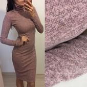 Ангора софт  !! Платье гольфик с высоким горлом качество Турция!!очень мягкие к телу