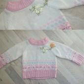 Два свитер одним лотом! Победителю аукциона подарочек:)