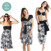3 в 1: платье-сарафан-юбка от tcm tchibo, Германия. Размер 36/38 евро