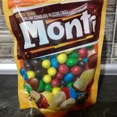 Драже Monti большие орешки в разноцветном молочном шоколаде.Польша , 240 гр.