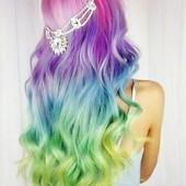 Мелки для волос! 4 цвета в лоте!  Для создания праздничных образов!