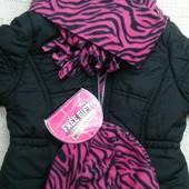 Деми куртка 3-4года Pink Platinum