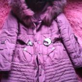 Зимнее теплое пальто Nui Very 36p-134p