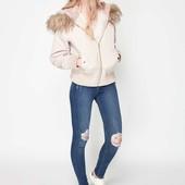 Утеплённая качественная куртка ткань парка Miss Selfridge Англия Оригинал, размер М (евро 40)