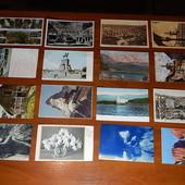 Старая Европа! Почтовые карточки и открытки! 16 шт. чистые.