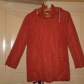 Шикарная стеганная, тёплая деми куртка  на р. 140 -152