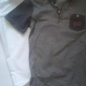 2 Рубашки на мальчика 8-10 лет