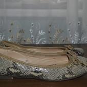 Балетки бренда George из Германии,р 37 ст 23.5 см изнутри,отл.состояние