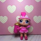 В лоте укомплектованная кукла с капсулы лол MGA серия конфетти шоу беби !оригинал