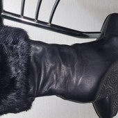 Зимние сапожки натуральный мех