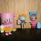 лот для девочки все что на фото куколки ЛОЛ не оригинал б\у.