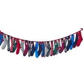 ☘ Лот 12 пар ☘ Рождественские хлопковые носки от tcm Tchibo (Германия), размеры: 35-40