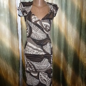 Классное фирменное платье,ткань тянеться!смотрите замеры!