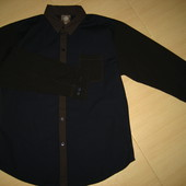 новая мужская рубашка Kruff р.XL  100% коттон (сток на дефекты проверено)